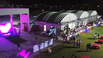 Large banquet hall in Vindhyavasini Lawn Nagpur