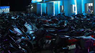 Parking facilities in wedding lawn Nagpur