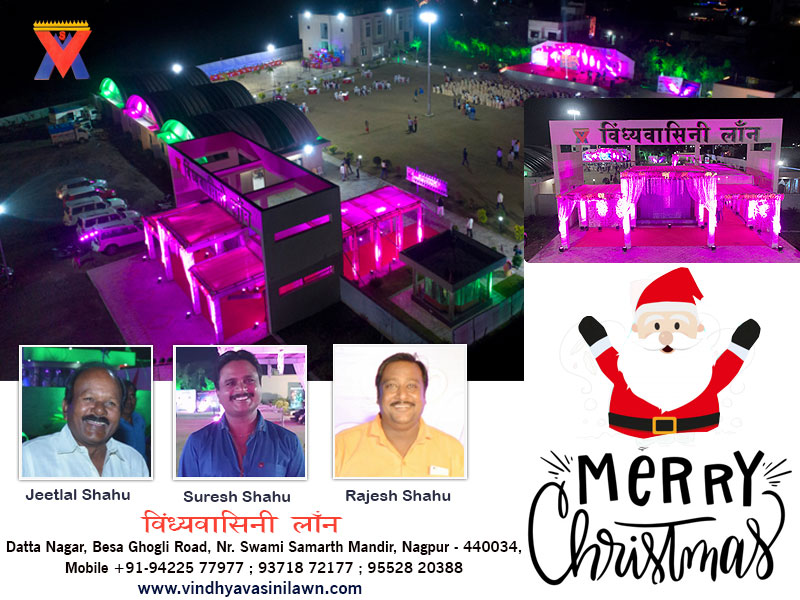 Christmas and New Year's Eve. Celebration - #1 Wedding Venue in Nagpur