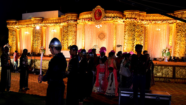 Reception stage decoration Nagpur