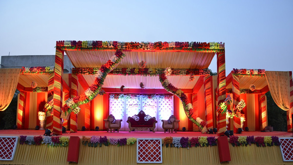 #1 Wedding Party Plot Stage Nagpur India
