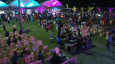 Marriage Lawn Nagpur Lawn Area 60,000 Sq.ft.